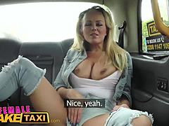 Female Fake Taxi Muschi Licking